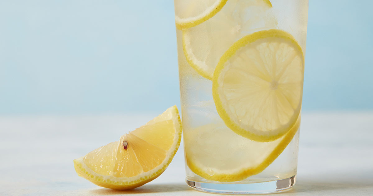 Drink Lemon Water Instead Of Pills If You Have One Of