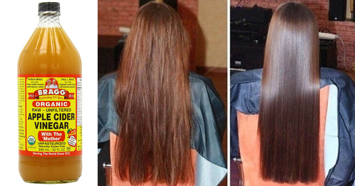 Cleaning Natural Hair With Apple Cider Vinegar